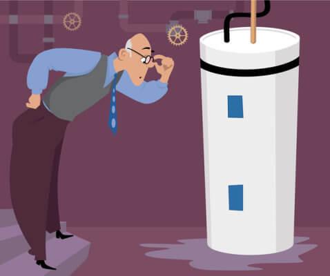 Water Heater Illustration
